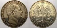 Taler (Sterbetaler) 1861  A Brandenburg-Preußen Friedrich Wilhelm IV. 1... 22531 руб 300,00 EUR  +  751 руб shipping