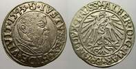Groschen 1543 Preußen, Herzogtum (Ostpreußen) Albrecht von Brandenburg ... 3755 руб 50,00 EUR  +  751 руб shipping