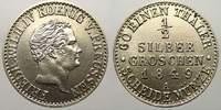 1/2 Silbergroschen 1849  A Brandenburg-Preußen Friedrich Wilhelm IV. 18... 5633 руб 75,00 EUR  +  751 руб shipping
