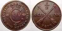 1/2 Skilling 1819 Schweden Karl XIV. Johann 1818-1844. Fast vorzüglich  3670 руб 50,00 EUR  +  734 руб shipping