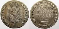 1/6 Taler 1813 Westfalen, Königreich Hieronymus Napoleon 1807-1813. Seh... 45,00 EUR  zzgl. 5,00 EUR Versand