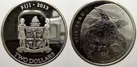 2 Dollars 2013 Fidschi Elizabeth II. seit 1952. Min. berieben, Polierte... 2128 руб 29,00 EUR  +  734 руб shipping
