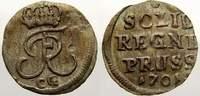 Schilling 1701  CG Brandenburg-Preußen Friedrich I. 1701-1713. Sehr sch... 25,00 EUR  plus 5,00 EUR verzending