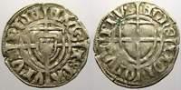 Deutscher Orden Schilling. Wohl in der Ordensmünze zu Th Paul von Rußdorf 1422-1441.