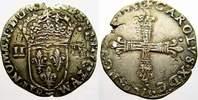 1/4 Ecu 1595  T Frankreich Karl X. 1589-1590. Doppelschlag. Sehr schön ... 4309 руб 60,00 EUR  +  718 руб shipping