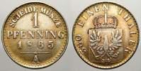 Pfennig Probe in Nickel 1865  A Brandenburg-Preußen Wilhelm I. 1861-188... 3591 руб 50,00 EUR  +  718 руб shipping