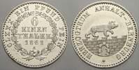 1/6 Taler 1861  A Anhalt-Bernburg Alexander Carl 1834-1863. Vorzüglich ... 3231 руб 45,00 EUR  +  718 руб shipping
