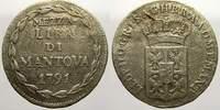 Mezza Lira di Mantova 1791 Haus Habsburg Leopold II. 1790-1792. Selten.... 12706 руб 175,00 EUR  +  726 руб shipping