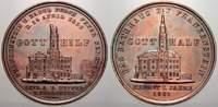 Bronzemedaille 1858 Schlesien-Frankenstein, Stadt  Schöne Patina, kl. S... 2872 руб 40,00 EUR  +  718 руб shipping