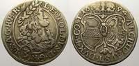 3 Kreuzer. 1694 Haus Habsburg Leopold I. 1658-1705. Sehr schön  1597 руб 22,00 EUR  +  726 руб shipping