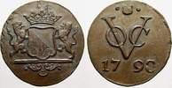 Cu 1 Duit 1790 Niederlande-Niederländisch-Ostindien Verainigte Ostindis... 5445 руб 75,00 EUR  +  726 руб shipping