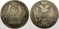 20 Kreuzer 1765 Nürnberg, Stadt  Sehr schön  1597 руб 22,00 EUR  +  726 руб shipping