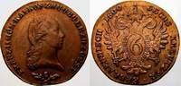 Cu 6 Kreuzer 1800  S Haus Habsburg Franz II. (I.) 1792-1835. Fast vorzü... 1452 руб 20,00 EUR  +  726 руб shipping
