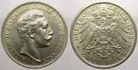2 Mark 1905  A Preußen Wilhelm II. 1888-1918. Vorzüglich-stempelglanz  2541 руб 35,00 EUR  +  726 руб shipping