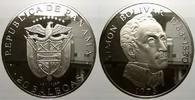 20 Balboas 1973 Panama Republik seit 1903. Kl. Flecke, polierte Platte  7260 руб 100,00 EUR  +  726 руб shipping