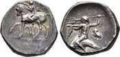 Didrachme 272/235 v.  Kalabrien