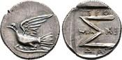 Hemidrachme 251/146 v. Chr. Sikyonia