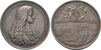 Medaille o. J. (1672), auf den Wie Belgien...