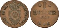 Hessen Cu-Heller 1808, Frankfurt. Sehr schön Karl Theodor von Dalberg, F... 35,00 EUR  zzgl. 4,50 EUR Versand