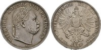 Vereinstaler 1866,  Wilhelm I., 1861-1888   75,00 EUR  zzgl. 4,50 EUR Versand
