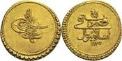 1 Zeri Istanbul AH 1115 (1703) Türkei / Os...