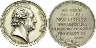 Silbermedaille 1932 Frankfurt am Main 100....