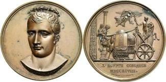 Bronzemedaille 1798 Frankreich I. Republik...