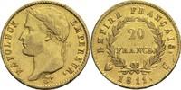 Frankreich 20 Francs Napoleon I. 1804-1814, 1815