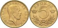 Schweden 5 Kronen Gustav V.