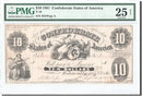 10 Dollars 1861 Confederate States of Amer...
