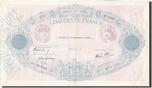 500 Francs 1939 Banque De France French ...