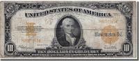 Ten Dollars 1922 Vereinigte Staaten  VF(30...