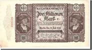 2 Millionen Mark 1923 Deutschland  EF(40-45)  50,00 EUR  zzgl. 10,00 EUR Versand