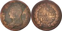 Decime 1800 G Frankreich Dupré VG(8-10)  60,00 EUR
