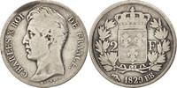 2 Francs 1829 BB Frankreich Charles X F(12-15)  180,00 EUR
