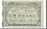 1 Franc 1916 Frankreich Cambrai, SS, Pirot:59-469 SS  20,00 EUR  zzgl. 10,00 EUR Versand