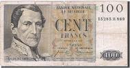 100 Francs 1952-1959 Belgien  F(12-15)  16,00 EUR