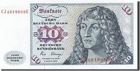 10 Deutsche Mark 1970-1980 Bundesrepublik Deutschland  UNC(63)  70,00 EUR  zzgl. 10,00 EUR Versand