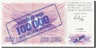 100,000 Dinara 1993 Bosnia - Herzegovina  UNC(65-70)  30,00 EUR  zzgl. 10,00 EUR Versand