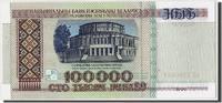 100,000 Rublei 1996 Belarus  UNC(65-70)  30,00 EUR  zzgl. 10,00 EUR Versand