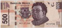 500 Pesos 2010 Mexiko 2010-03-08, KM:126a, UNZ UNZ  140,00 EUR  zzgl. 10,00 EUR Versand