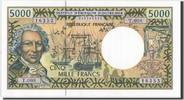 5000 Francs 1996 French Pacific Territories  UNC(65-70)  200,00 EUR kostenloser Versand