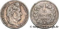1/4 franc Louis-Philippe 1831  LOUIS-PHILIPPE I 1831 (15mm, 1,25g, 6h )... 180,00 EUR  zzgl. 10,00 EUR Versand