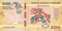 500 Francs 2015 BURUNDI BURUNDI 500 Francs 2015 NEUF ST  3,00 EUR