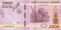 2000 Francs 2015 BURUNDI BURUNDI 2000 Francs 2015 NEUF ST  6,00 EUR