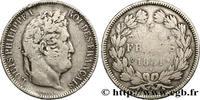 5 francs Ier type Domard, tranche en creux 1831  LOUIS-PHILIPPE I 1831 ... 290,00 EUR