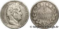 5 francs Ier type Domard, tranche en creux 1831  LOUIS-PHILIPPE I 1831 ... 320,00 EUR