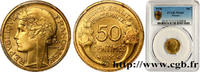 50 centimes Morlon 1936  III REPUBLIC 1936 (18mm, 2g, 6h ) fST  110,00 EUR