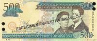 500 Pesos Oro 2003 RÉPUBLIQUE DOMINICAINE RÉPUBLIQUE DOMINICAINE 500 Pe... 20,00 EUR  zzgl. 10,00 EUR Versand