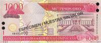 1000 Pesos Oro 2002 RÉPUBLIQUE DOMINICAINE RÉPUBLIQUE DOMINICAINE 1000 ... 25,00 EUR  zzgl. 10,00 EUR Versand